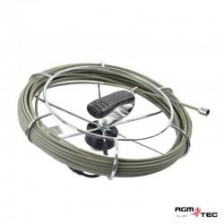 Tubicam® - Carrete cable de empuje 20 metros